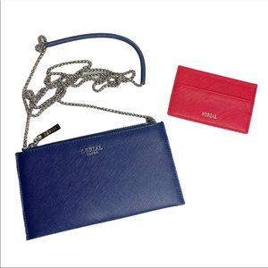 Sorial Wallet Crossbody Bag & Card Case